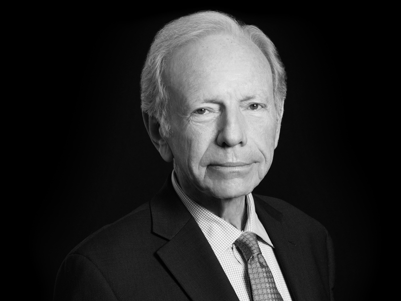 Senator Lieberman Discusses Cybersecurity and Data Breach Liability